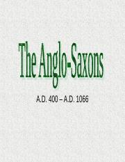 The Anglo-Saxons Background (1)