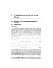 CSCI 6505 Probabilistic Reasoning and Bayes Filtering