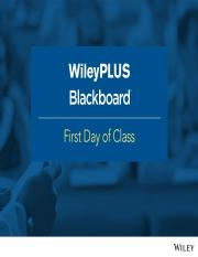 TAMU ISEN 302 WileyPLUS and Blackboard FDOC Slides - Final.ppt