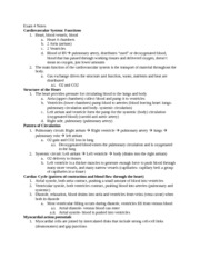 Bios 422 Exam 4 Notes