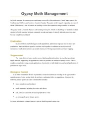 Moth Management