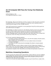 An AI Computer Will Pass the Turing Test Relatively Soon - Google Docs.pdf