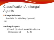 No.15a Antifungals
