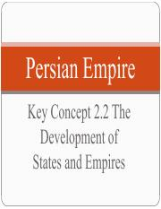 2016-2017 - persian empire