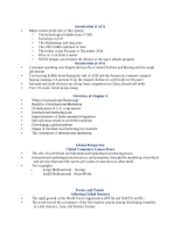 International Marketing Chapter 1 Notes