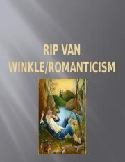 rip van winkle romanticism