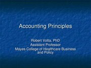 Lecture 10 Votta AccountingSlides fall 2014
