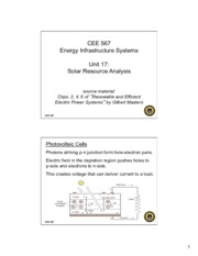 Lecture17 Solar Resource Analysis for Energy Infrastructual system