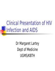Clinical Manifestatons of HIV.ppt