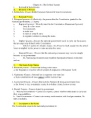 Chapter 4 Government Notes-1