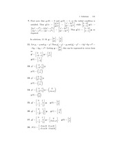 Ordinary Diff Eq Exam Review Solutions 129
