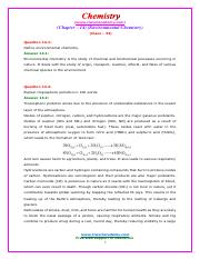 11-Chemistry-NcertSolutions-chapter-14-exercises