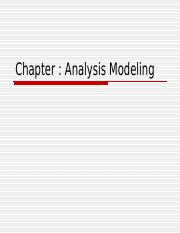 Chapter 5 Analysis Modeling.ppt