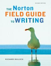 The Norton Field Guide to Writing, 2nd edition