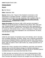 _Report of the President's Commission on the Assassination of President Kennedy_ eText - Primary Sou