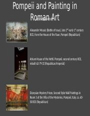 02.24 - Pompeii and Painting in Roman Art