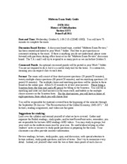 INTB 3351 MidTerm Study Guide
