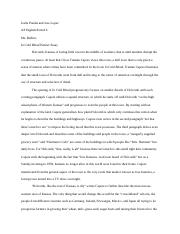in cold blood partner essay