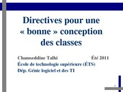 Cours-04-DirectivesConception