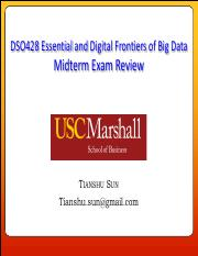 DSO428 Exam Review - Midterm.pdf