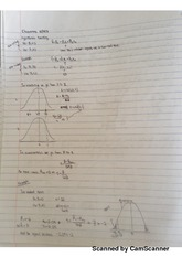 Econometrics Chapter #5 Classnotes
