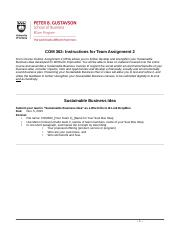_COM 362 Sustainable Business Plan_Instructions 2015.doc