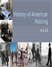 Wk 2_PP2 - History of American police cont (1).pptx