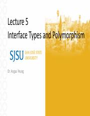 5 Interface Types and Polymorphism.pdf