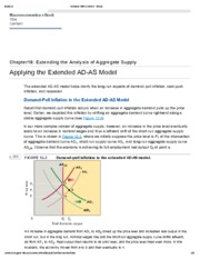 3. Applying the Extended AD-AS Model
