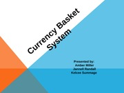Currency Basket System