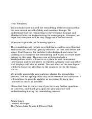 Lobby and Lounge Letter to the Members.docx