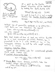 CHEM 331 Feasible Direction Method Notes
