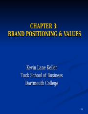 chapter3 Brand Positioning.ppt