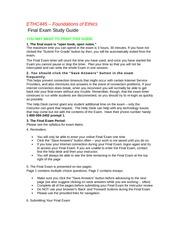 ethc 445 entire course week 1 Ethc 445 week 1 assignment, biological parent vs forster parent.
