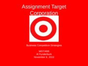 MGT 488 Assignment Week 4 Business Competition Strategies