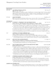 Yale Resume Tips Yale School Of Management Approved