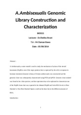 Genomic Library Construction
