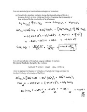 ... Calculations and Answers - Mole Calculation Worksheet 1) How many