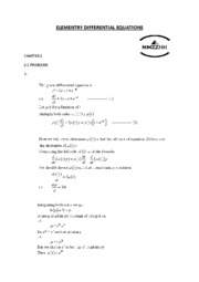 ELEMENTRY DIFFERENTIAL EQUATIONS 2.1