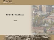 IE386_ReviewSlides_FinalExam_Fall2011