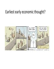 2_Early economic thought