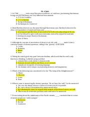 Ch.6-10 Quizzes