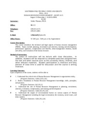 MGMT4115Falll_2014_HRMSyllabus and Course Outline.doc