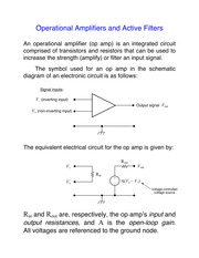 Op amp introduction