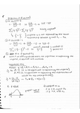 Properties of R-Squared Notes