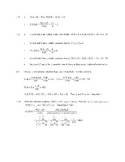 Statistics 2103 Homework Assignment 5 with Solutions