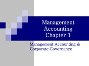 Test 1-Ch01-Management Accounting & Corporate Governance