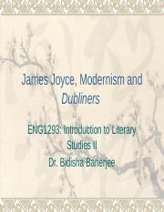 James Joyce, Dubliners 2