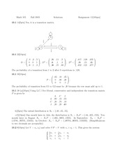 MATH 105 Homework 11 Solutions