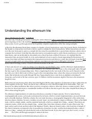 Understanding the ethereum trie _ Easy There Entropy